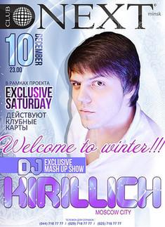 Exclusive Saturday: Dj Kirillich