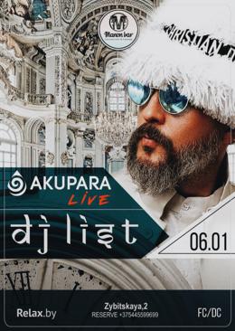 DJ List / Akupara live
