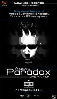 Alaska & Paradox - Live PA - Англия