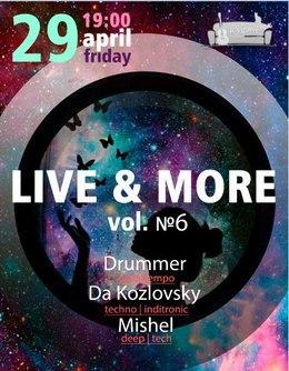 Live & More vol. 6