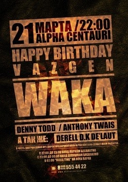 Happy Birthday Vazgen_Waka