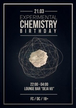Experimental Chemistry Birthday
