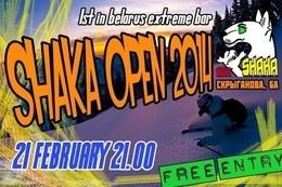 Открытие SHAKA бар