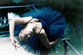 Фотосессия в балетной пачке!