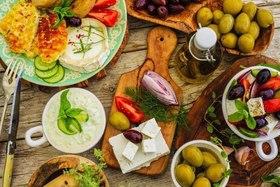 Национальные блюда на о. Корфу