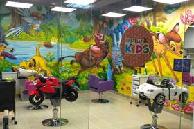 Открылся детский салон красоты Pastelle Kids