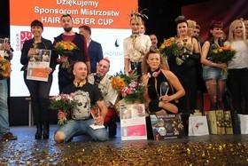 Победа на чемпионате парикмахерского искусства в Польше