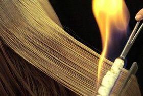 Fire Cut (Файо Кут). Стрижка огнем. Пирофорез