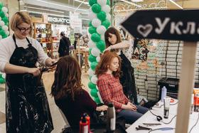 Салон студия CUTRIN принимал участие в открытии магазина ДНК