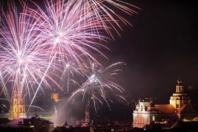 Новый год в Вильнюсе 2015!