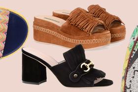 Новое поступление летней обуви Nursace