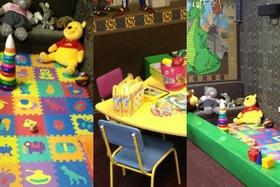 Открытие комнаты для детей