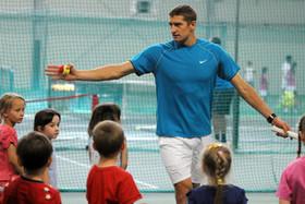Набор детей в группы по теннису