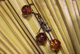 Янтарь в серебре! Новинка в «Мономах» – украшения из натурального камня!