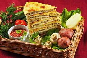 Предлагаем свежие осетинские пироги с различными начинками!