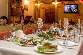 Свадебные банкеты и юбилеи в кафе L'абрус