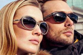 Скидка до 50% на солнцезащитные очки.