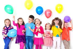 Детский праздник на летней террасе