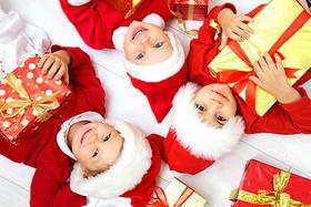 Детский новогодний праздник в «Barberry»