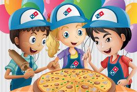 Школа маленьких пиццамейкеров в DOMINO'S!