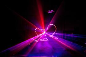 Эксклюзив: лазерное шоу на свадьбе!