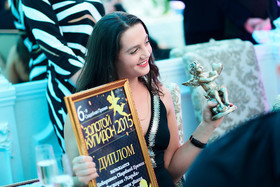 Победа в Свадебной премии «Золотой купидон» 2015