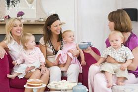 Мама-клуб для деток от 6 месяцев до года!
