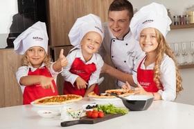 Детский мастер-класс по приготовлению пицц