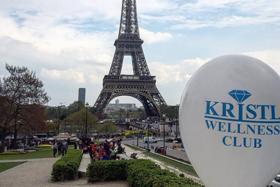Команда Wellness Club KRISTL на конгрессе по СПА и массажу в Париже