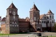Мирский замок - Замковый комплекс