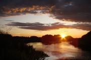 Центральный пляж - Река