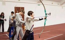 Акция «При покупке абонемента на 8 занятий по стрельбе из лука - 1 дополнительное занятие в подарок»