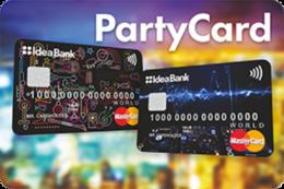 Прочее Акция «Карточка «PartyCard» от Идея Банк» До 30 апреля
