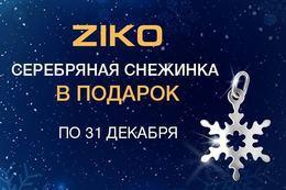 Акция «Серебряная подвеска-снежинка в подарок»