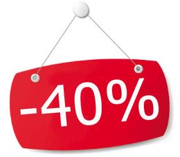 Акция «Приведи друга и получи скидку 40%»