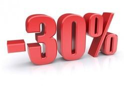 Скидка 30% на любую программу в течение всего курса