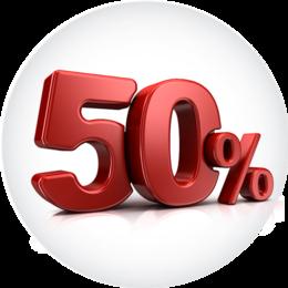 Скидка 50% на проживание в усадьбе в будние дни