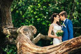 Скидка 5% на все пакеты свадебной съемки для тех, кто подпишет договор до 14 февраля
