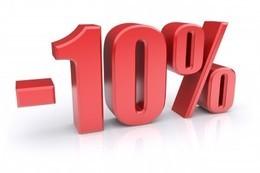 Скидка на абонементы 10% студентам