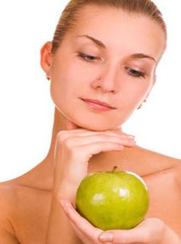 Скидка 40% на процедуру для лица «Яблочный рай»