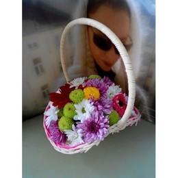 Корзинка цветов всего за 250.000 руб.