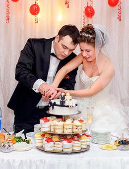На бронирование свадьбы в пятницу скидка 15%