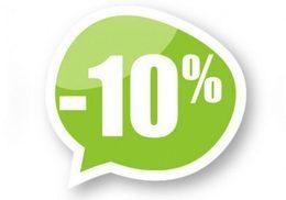 Акция «Купи абонемент на первом занятии и получи скидку 10%»