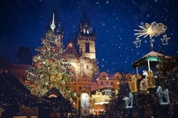 Акция на тур «Рождество в волшебной Праге»