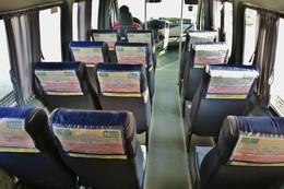 Выгодное предложение: размещение рекламы на подголовниках в маршрутных такси
