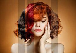 Скидка 50% на комплекс «Стрижка + окрашивание волос любой длины»