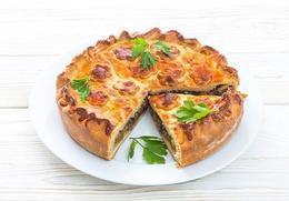Акция «Пирог с капустой и грибами всего за 5,29 руб.»