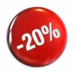 Скидка 20% при заказе еды на вынос