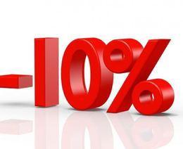 Скидка 10% при аренде усадьбы более чем на 7 суток