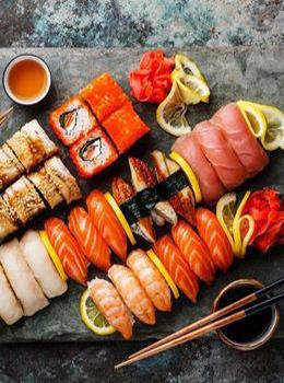 Скидка 20% на суши на вынос с понедельника по пятницу